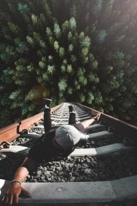 traintrack climbing