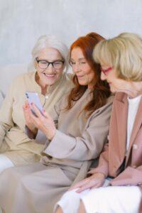 Three Elderly Women